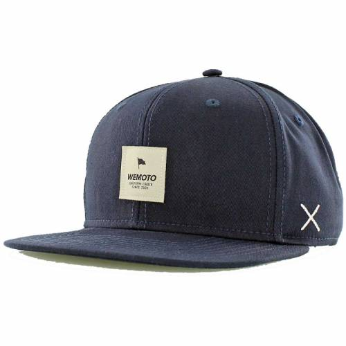 Wemoto Flag Snapback - Navy Blue