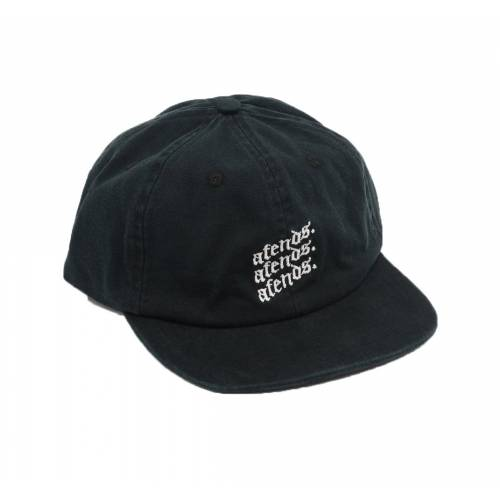 Afends Rotten Unstructured Cap - Preto