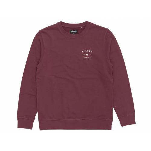 Afends Clothing Co Sweatshirt - Oxblood