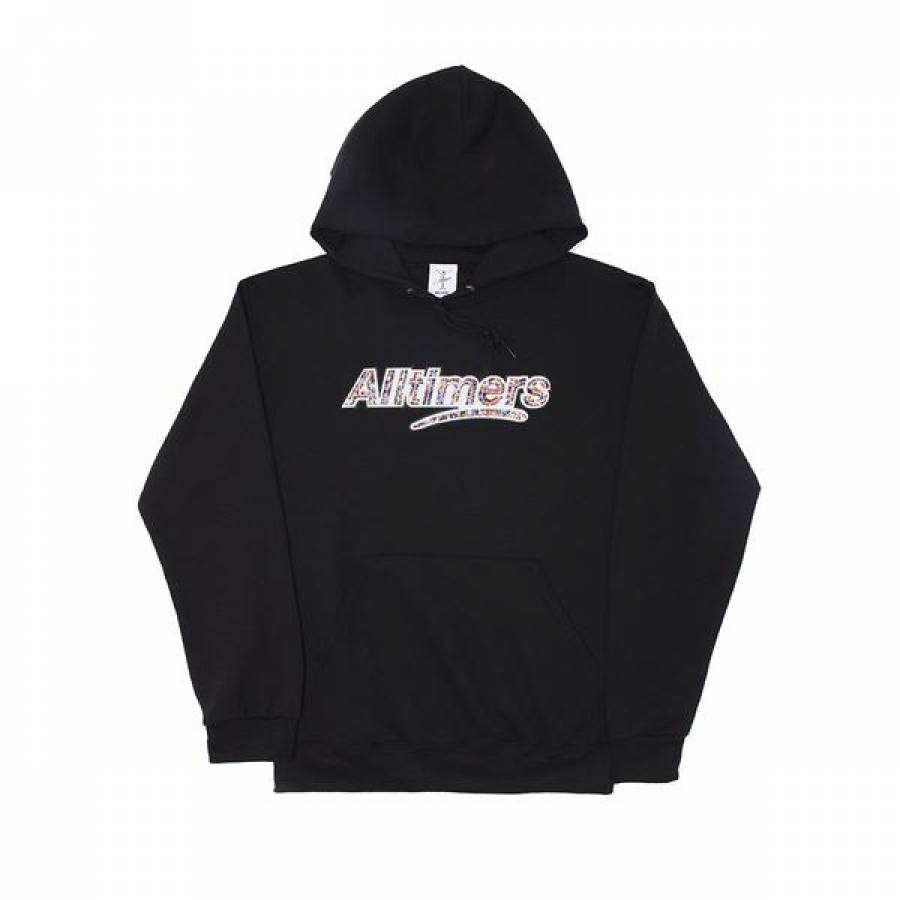 Alltimers Crowd Logo Hoody - Black