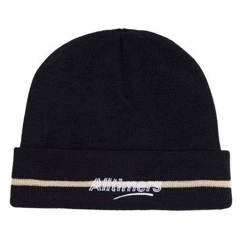 Alltimers Lined Estate Beanie - Navy