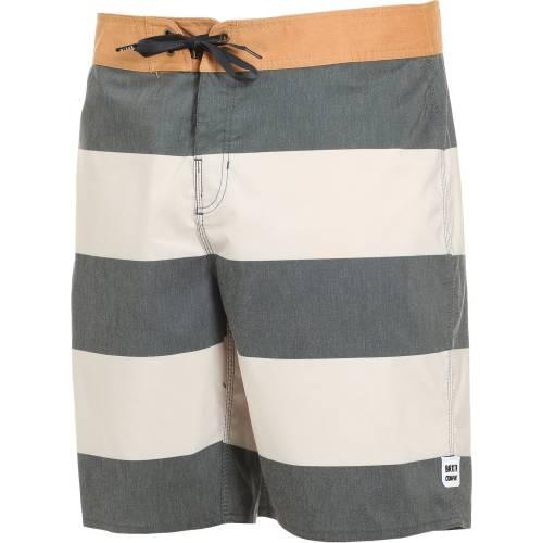 bdfc3284c2 Brixton Barge Stripe Trunk Shorts - Washed Black  .