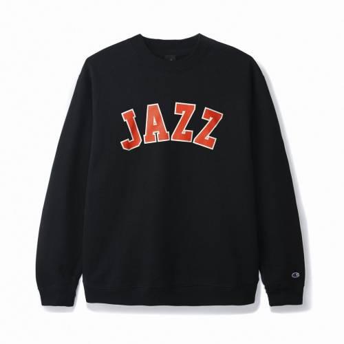 Butter Jazz Champion Crewneck Sweatshirt - Black