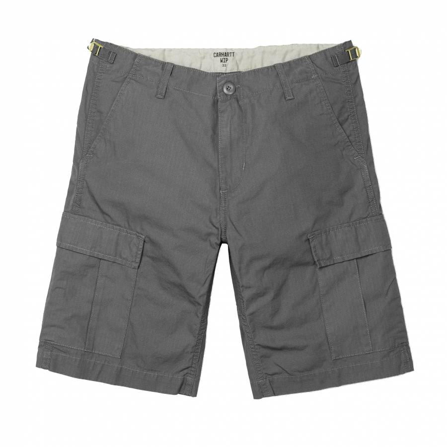 Carhartt Aviation Short - Air Force Grey (Rinsed)