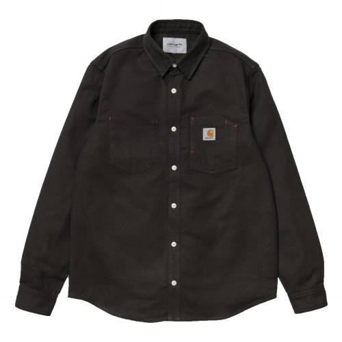 Carhartt L/s Tony Shirt - Tobacco Rigid