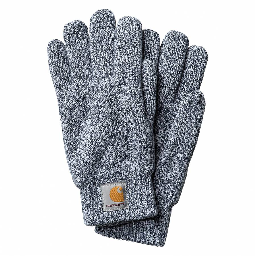 Carhartt Scott Gloves - Dark Navy/ Wax