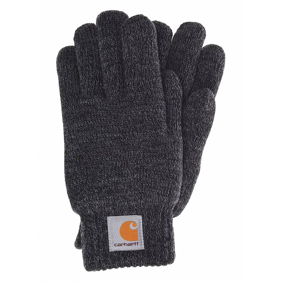 Carhartt Scott Gloves - Dark Grey Heather/Black