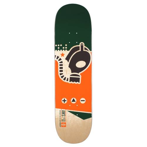 Alien Workshop Gas Mask Deck - 8.5""