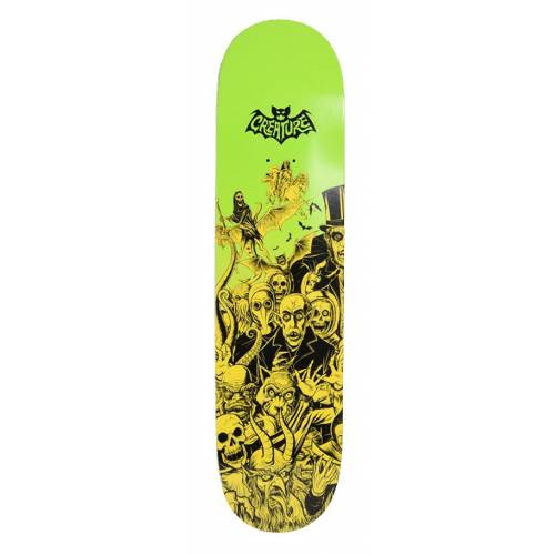 Creature Batty MD Hard Rock Maple Deck - 8.3""