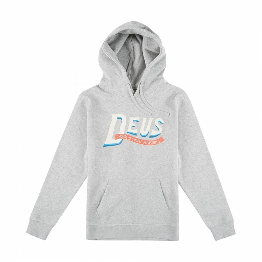 Deus Ex Machina Sweep Hoodie - Grey Marle