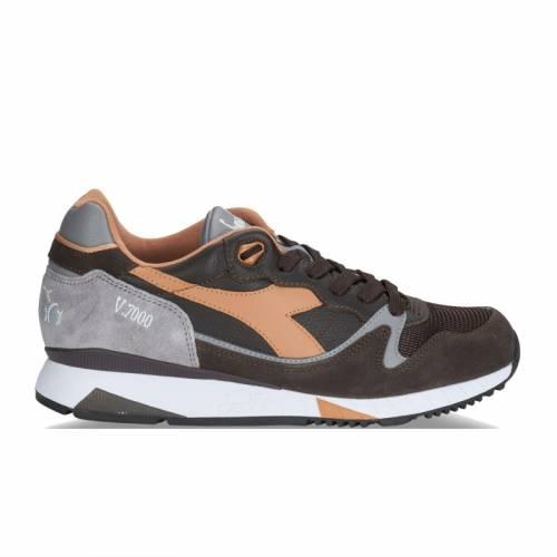 Diadora V7000 Italia Shoes - Black / Grigio