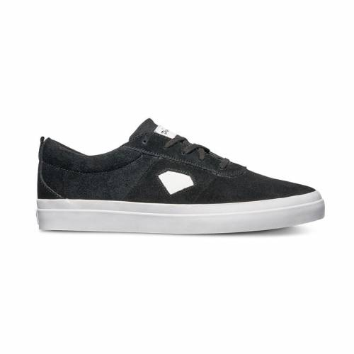 Diamond Icon Twotone Shoes - Black/White