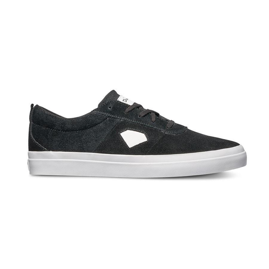 Diamond Icon Twotone Shoes - Black/White