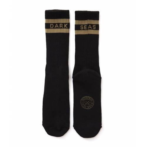 Dark Seas Workup Socks - Black