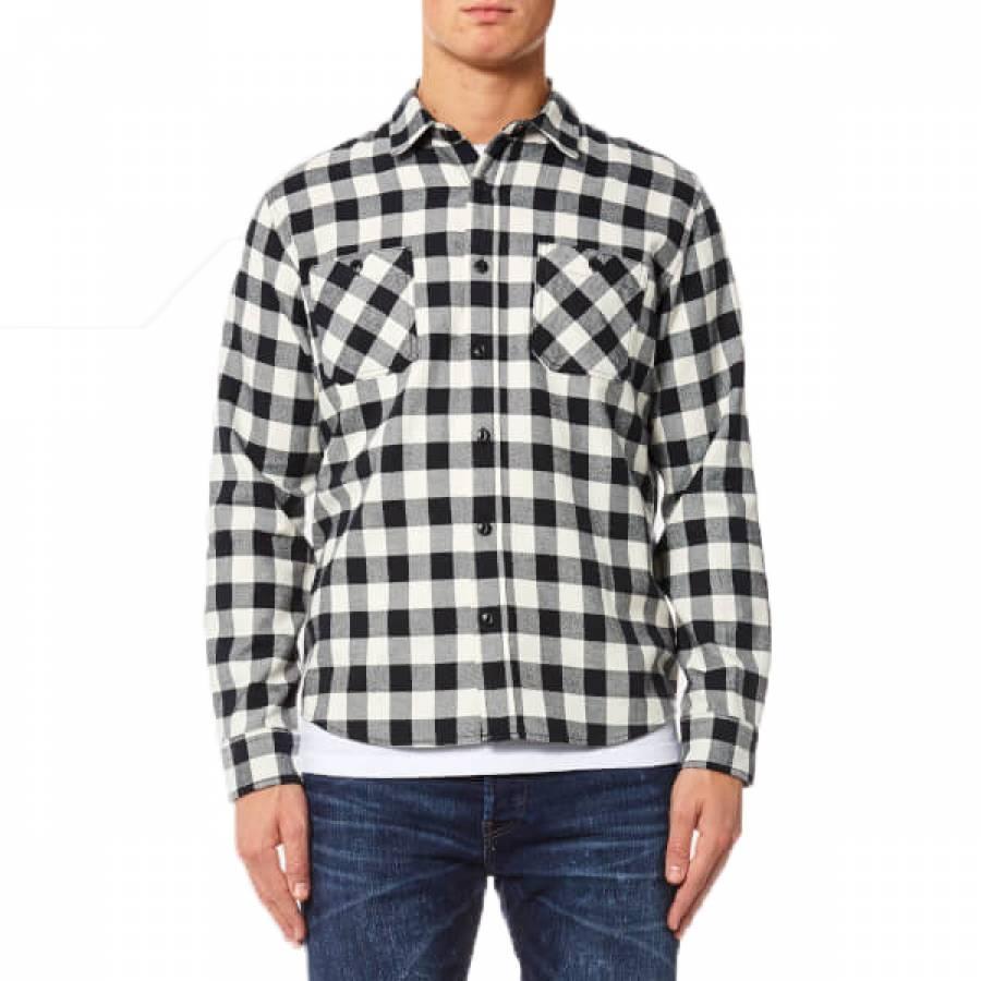 Edwin Labour Shirt - Off Whitev