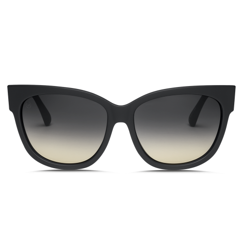 Electric Danger Cat Sunglsses - Matte Black