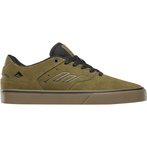 Emerica Reynolds Low Vulc Shoes - Olive / Black / ...