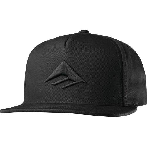 Emerica Triangle Snapback Cap - Black