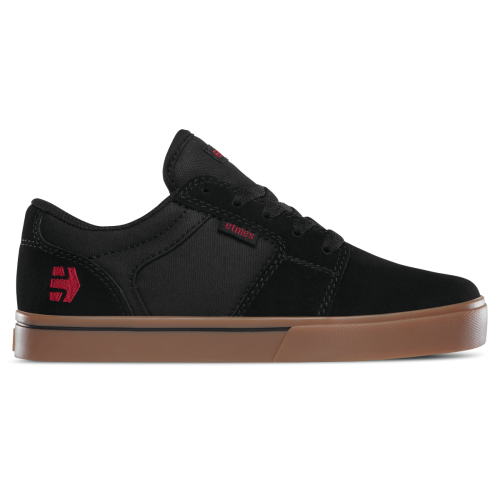 Etnies Barge LS Kids Shoes - Black / Gum