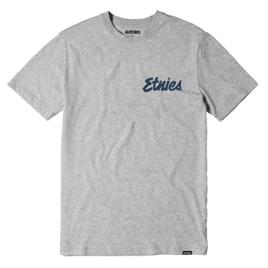 Etnies Speed Script Tee - Grey/Heather