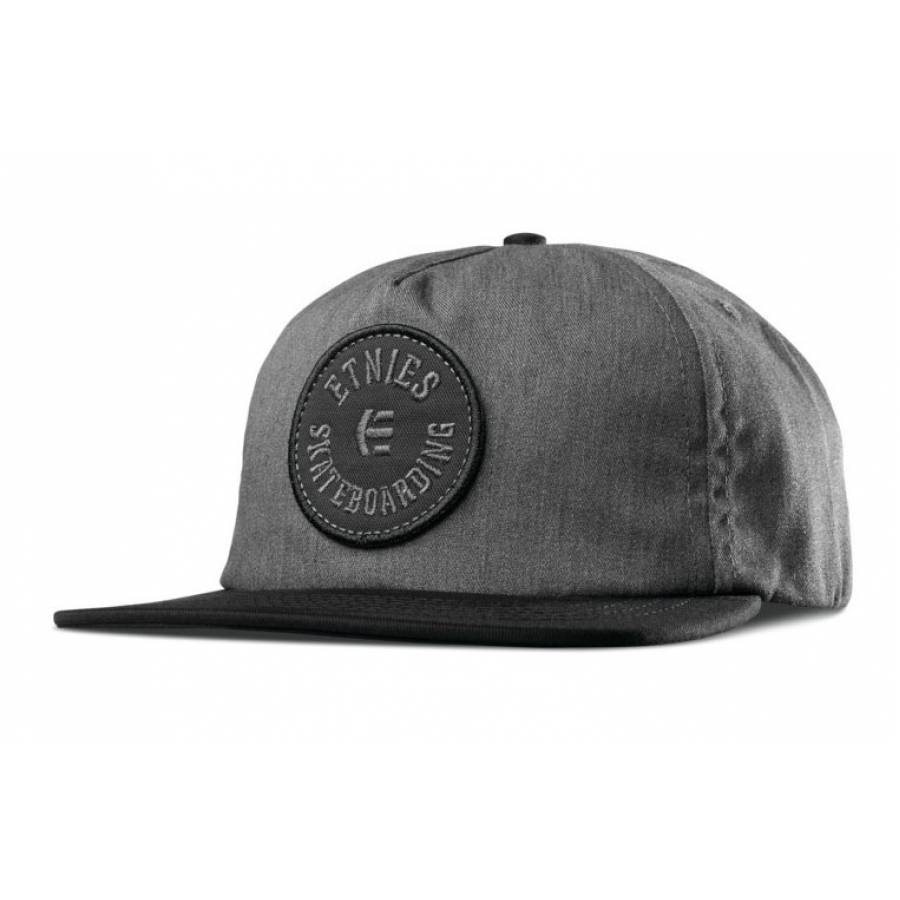 Etnies Tour Hat - Black/ Grey