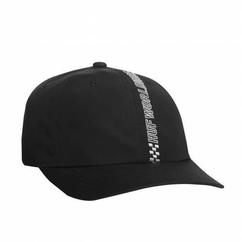 Huf Pole Position Curved Hat - Black