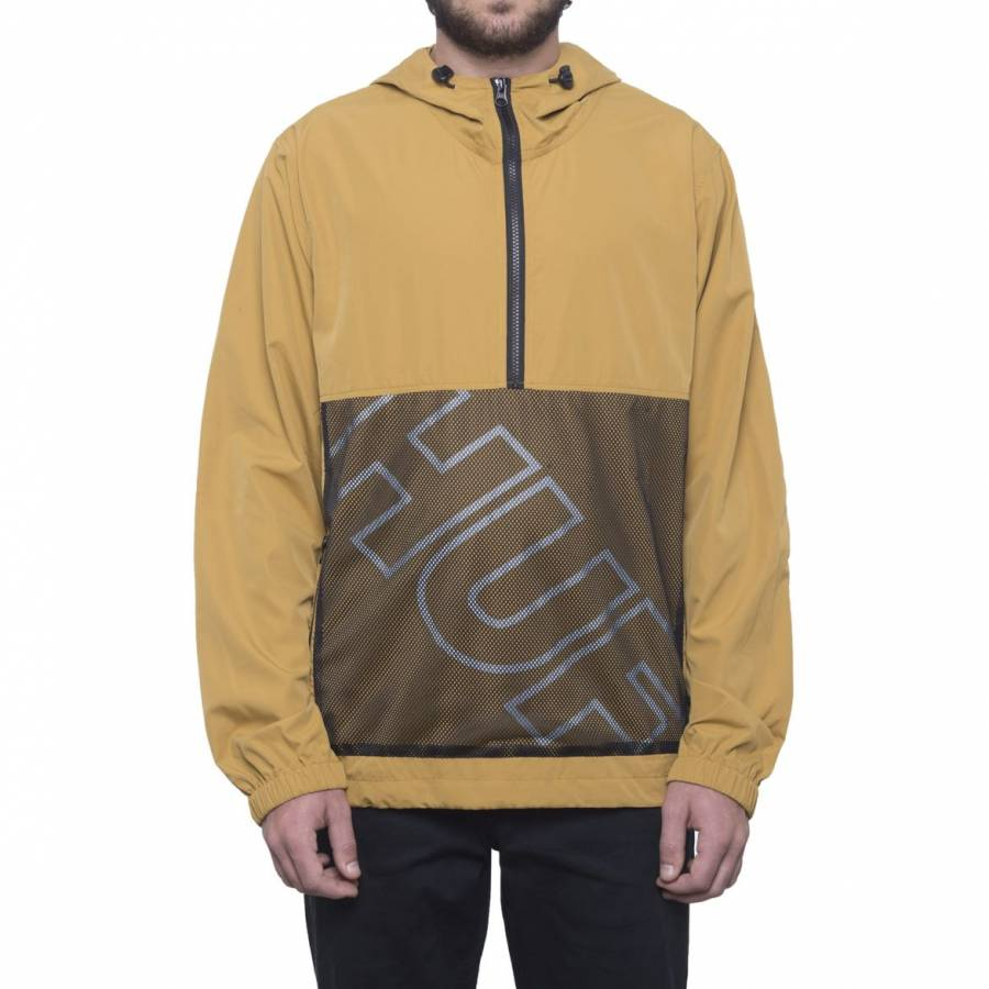 Huf Wire Frame Anorak Jacket - Honey Mustard