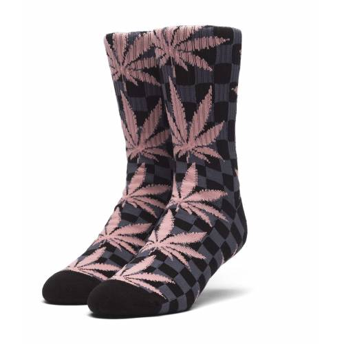 HUF Checkered Plantlife Sock - Black
