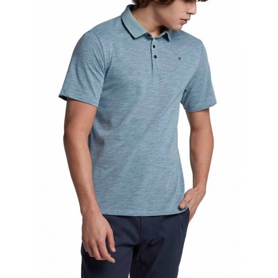 Hurley Dri-fit Lagos Polo - Ocean Blue