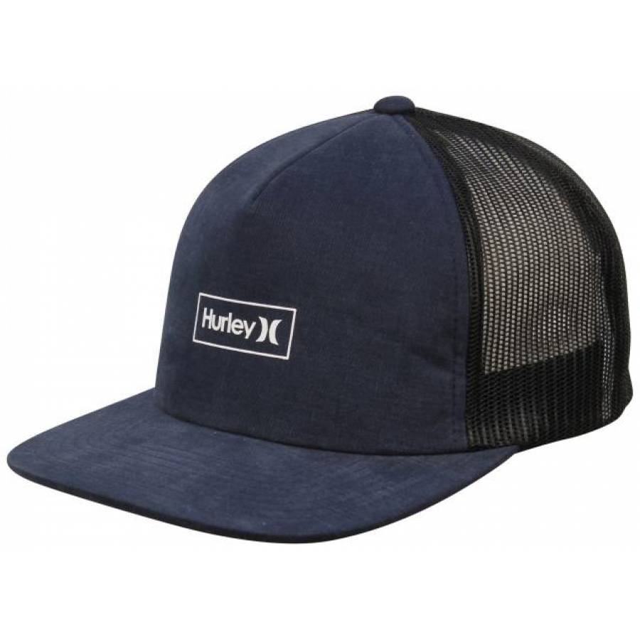 Hurley Locked Hat - Blue Force