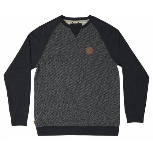 Hippytree Ballard Crew Sweater - Heather Charcoal