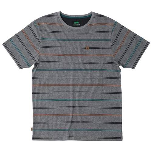 Hippytree Stanton Tee - Heather Grey