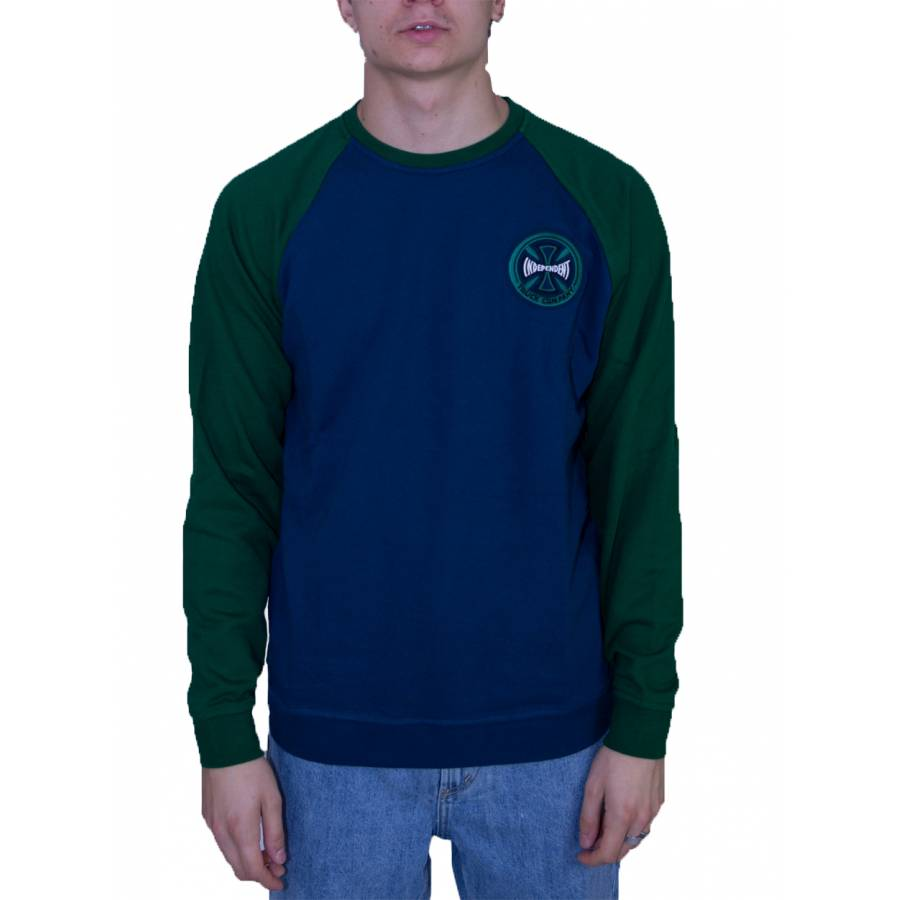 Independent Crew Hollow Cross Olive