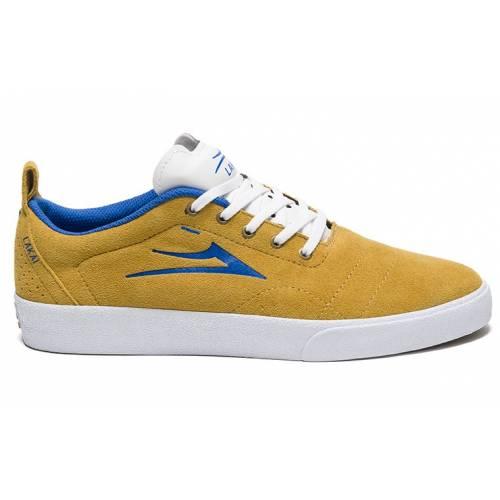 Lakai Bristol Shoes - Gold/blue