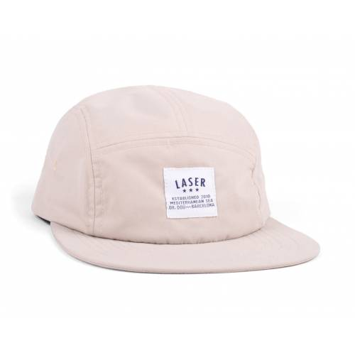 Collective Store - Laser Barcelona Borne Off White Packable 5 Panel 680498d55ed