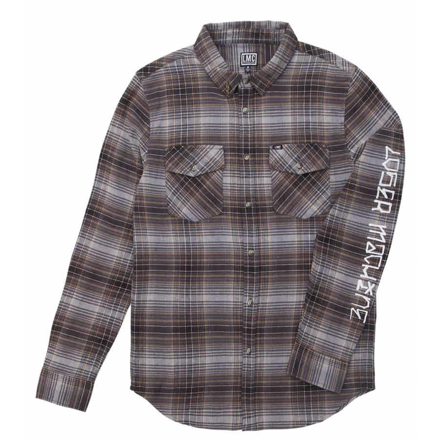 Loser Machine Hacienda Printed Shirt - Grey