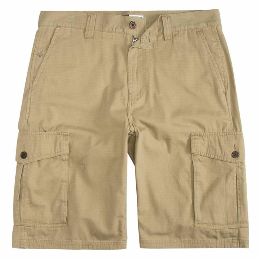 LRG Men's RC Ripstop Cargo Shorts - Khaki Brown
