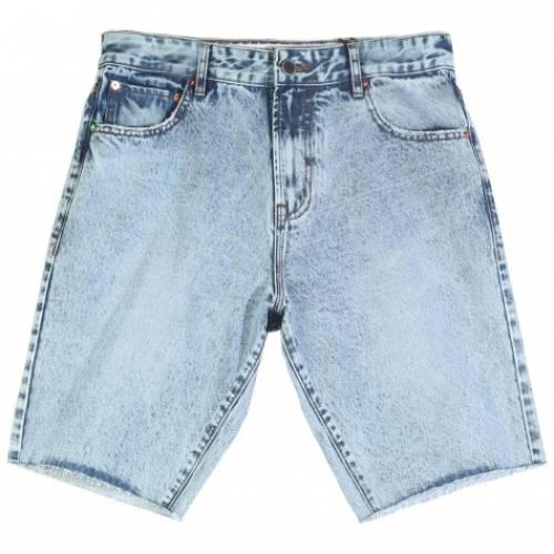 LRG Make Jeans Not War Ts Denim Shorts - Light Ind...