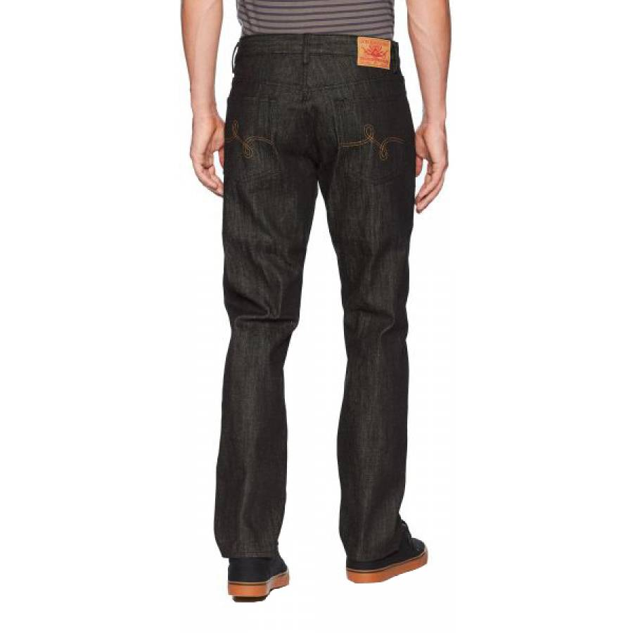LRG Men's RC TT Denim Jeans - Raw Black