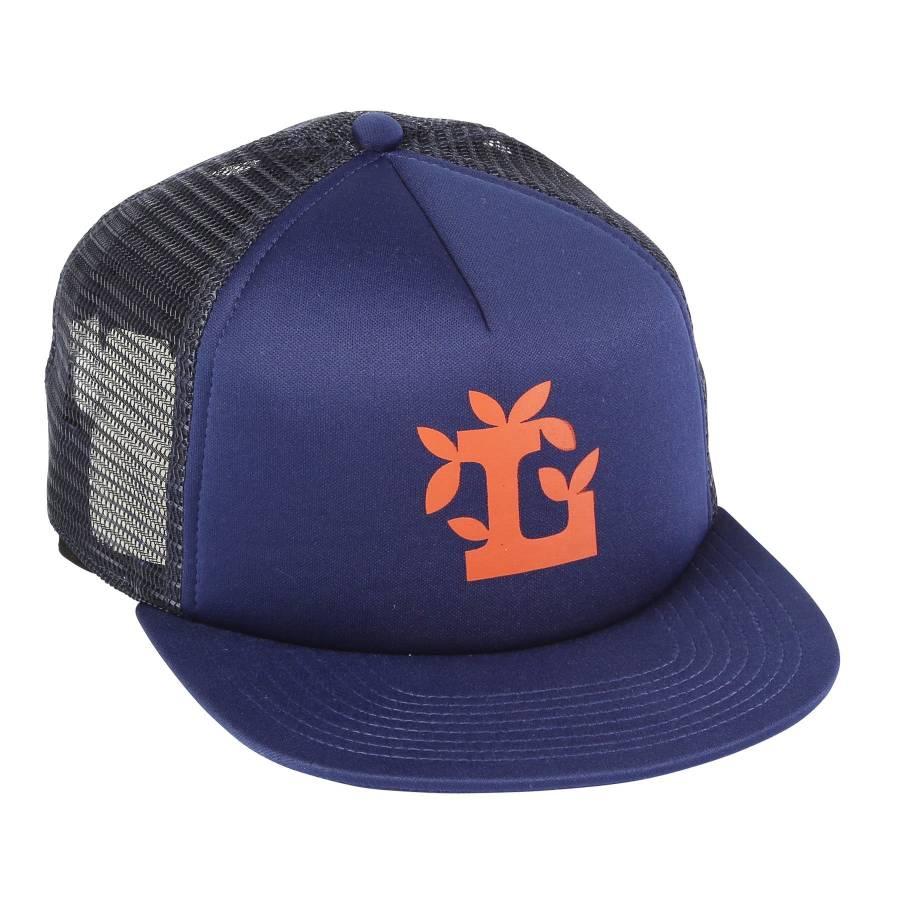 LRG Leaf L Trucker Hat - Patriot Blue