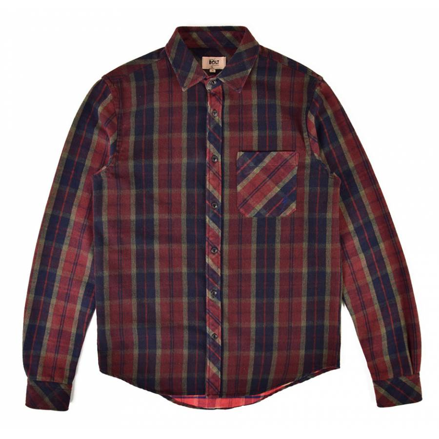 Lightning Bolt Alamo Flannel Shirt - Unique