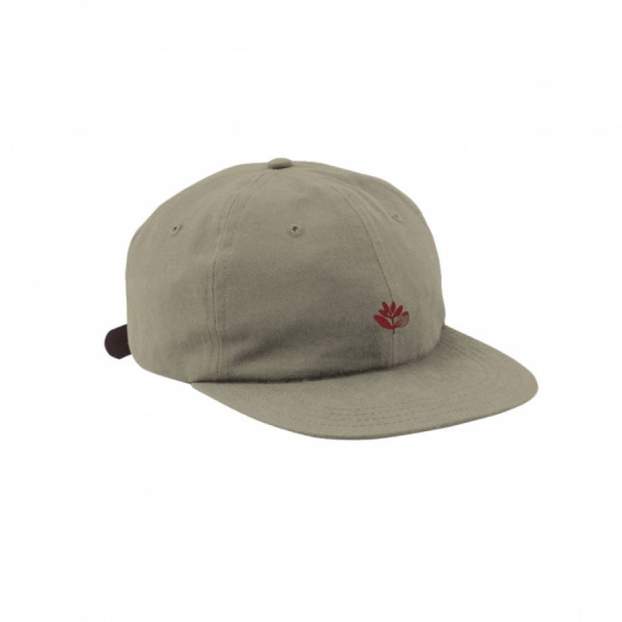 Magenta DC 6 Panel Flexible Hat - Beige