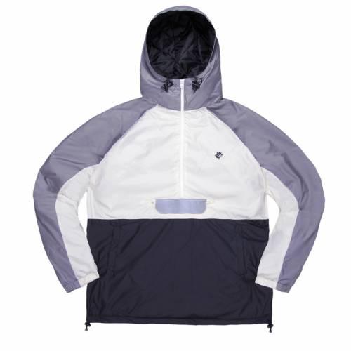 Magenta Belleville Jacket - Light Grey/Black/White