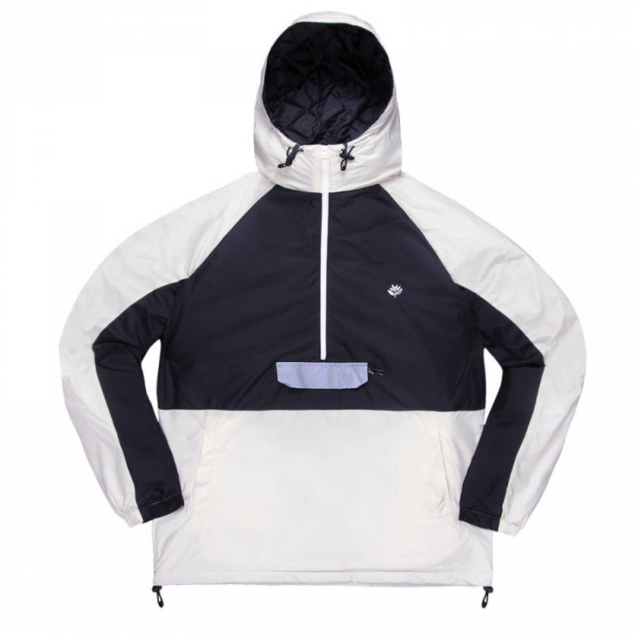 Magenta Belleville Jacket - White/Black