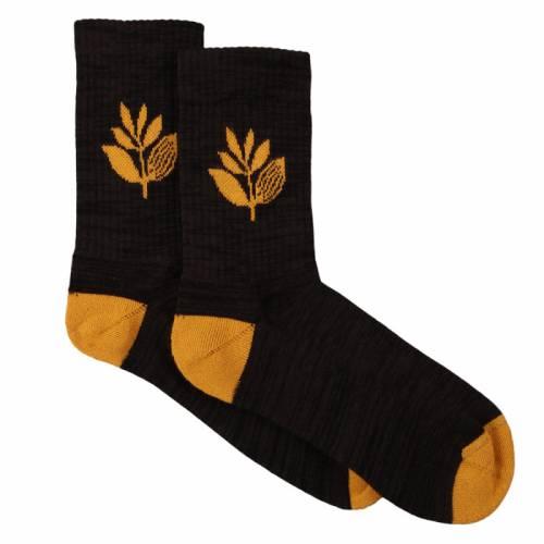 Magenta Socks Mid - Black/Orange