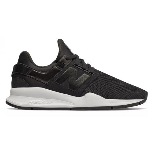 New Balance 247 Shoes - Black with Black Metallic