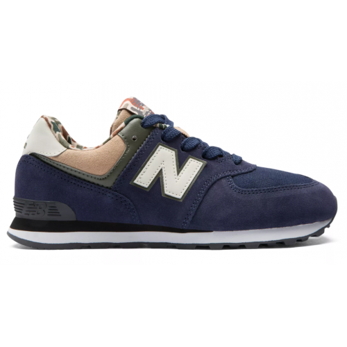 New Balance 574 Shoes - Pigment with Hemp