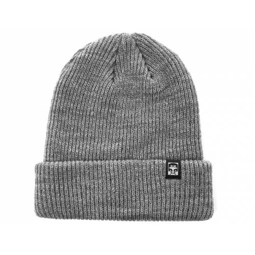 Obey Ruguer 89 Beanie - Heather Grey