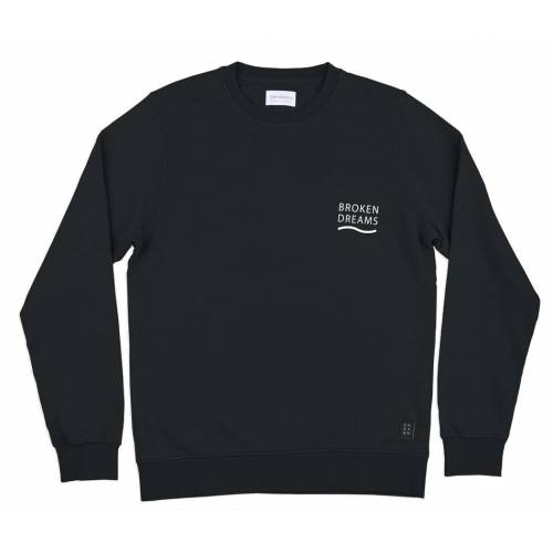 Oh Dawn Travelers Crew Sweatshirt - Black