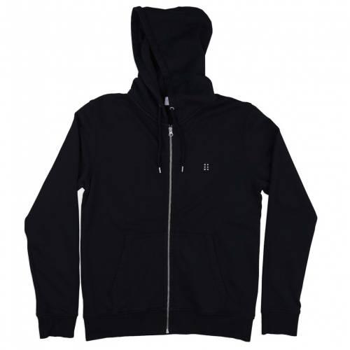 Oh Dawn Deep End Zip Hoodie Jacket - Black